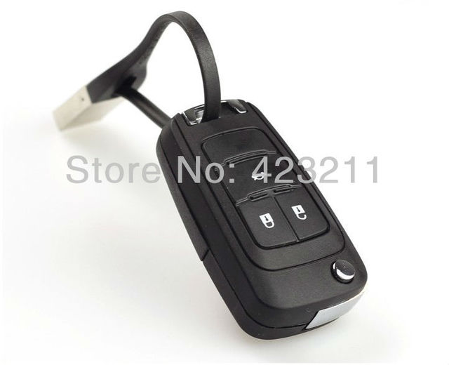 New Blank Flip Folding Remote Key Shell Case For Chevrolet Cruze 3Buttons  FT0087