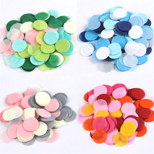 1000pcs 1inch (2.5cm) Round Multicolor peach Paper Confetti Party Wedding Table Decoration birthday party Decorative Supplies