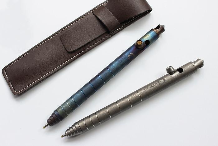 купить Hot! Christmas Gifts Titanium Alloy EDC Bolt Pen Defensive Pen Tactical Tungsten Alloy Attack Head Signature Pen EDC Multi Tools