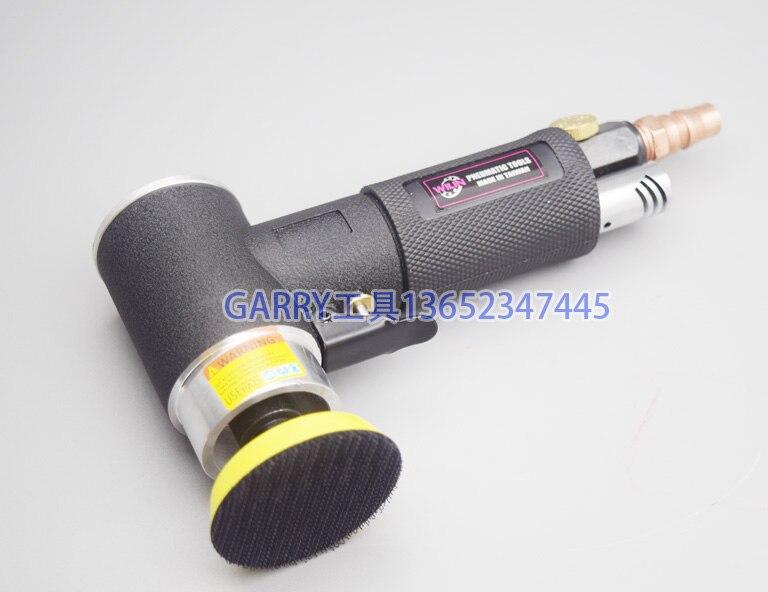 De qualité de qualité industrielle 2 pouce 3 pouce air ponceuse excentrique pneumatique ponceuse excentrique 50mm 75mm polissage grinder livraison gratuite