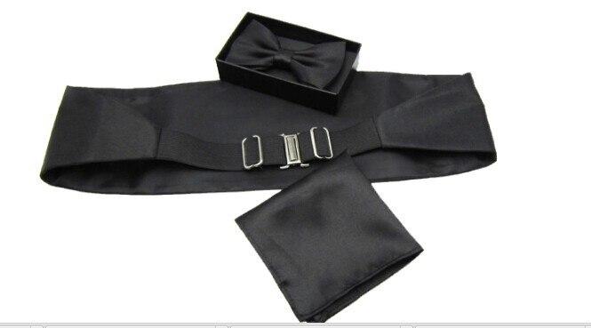 Vyrų juoda balta smokinga oficiali suknelės kostiumai vyriški - Vyriški drabužiai - Nuotrauka 6