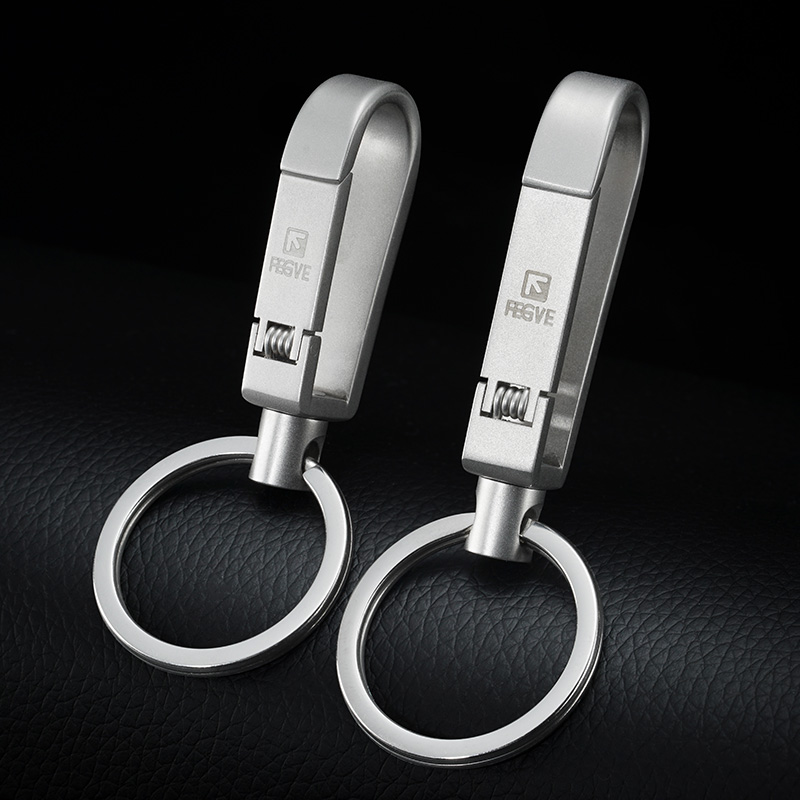 High-Quality 304 Stainless Steel Men Keychains Car Key Chain Classic Key Ring Holder Bag Pendant Best Gift Jewelry Accessories