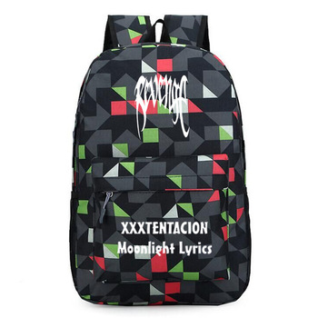 OLOEY Popular Rapper Xxxtentacion Backpack School Bags for Teenagers Students Large Capacity Book Bags revenge Daily Backpack tote bags for work