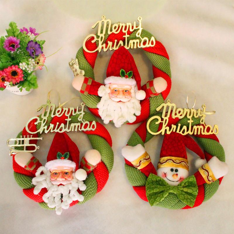puerta de navidad colgando decoracin de pap noel mueco de nieve de navidad colgante del rbol