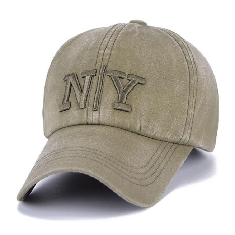 Kopfbedeckungen Für Herren Unikevow Baumwolle Armee Baseball Kappe Brief Gewaschen Flachen Hut Für Männer Military Cap Mit Eisen Logo Sport Kappe