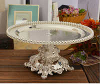 27 cm kitchen dining cake stand fruit pastry bread tray holder table decoration wedding party tray decoration fruit SG013