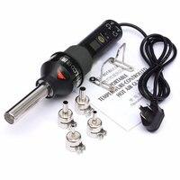 220V 450W 450 Degree LCD Adjustable Electronic Heat Hot Air Gun Desoldering Soldering Station IC SMD