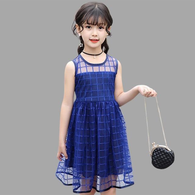 119b66228 € 9.49 40% de DESCUENTO|Vestido de princesa para niñas verano 2019 vestidos  para niños vestido de fiesta para niños 6 8 12 13 14 años disfraz ...