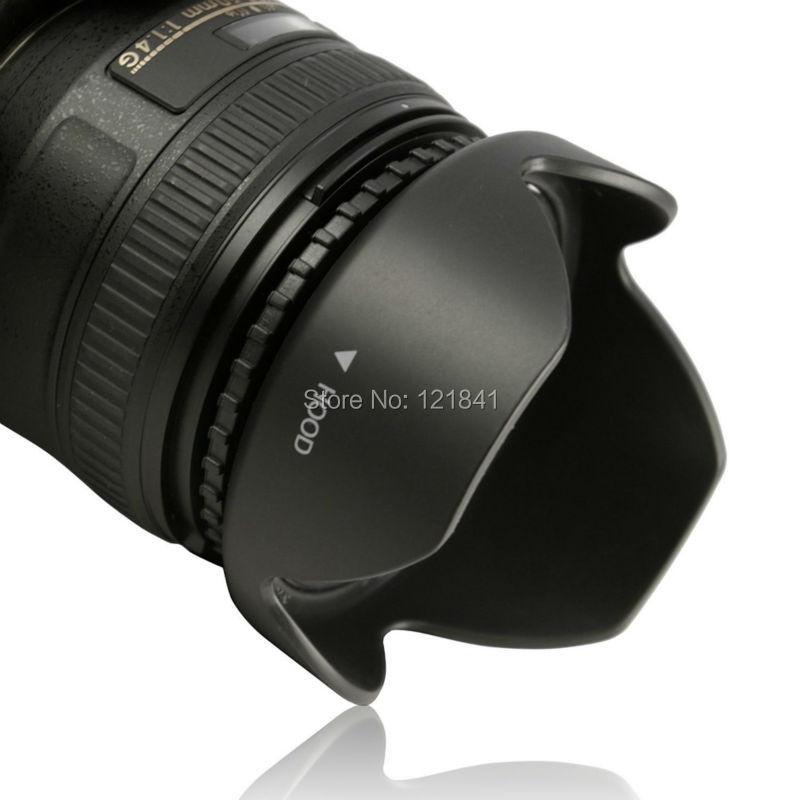 Yüksek Kalite 58 MM Canon kamera için Geri Dönüşümlü Petal - Kamera ve Fotoğraf - Fotoğraf 2