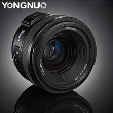 YONGNUO 35mm lenses YN35mm F2.0 AF/MF Fixed Focus F1.8 Lens for Canon Nikon F Mo