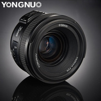 YONGNUO 35mm lenses YN35mm F2.0 AF/MF Fixed Focus F1.8 Lens for Canon Nikon F Mount Lens D3200 D3400 D3100 D5300 for DLSR Camera