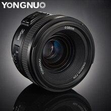 YONGNUO YN35mm עדשות F2.0 AF/MF קבוע פוקוס F1.8 עדשה עבור Canon ניקון D800 D300 D700 D3200 D3300 D5100 d5200 עבור DLSR מצלמה