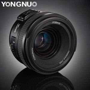 Image 1 - YONGNUO YN35mm العدسات F2.0 AF/MF الثابتة التركيز F1.8 عدسات لكاميرات كانون نيكون D800 D300 D700 D3200 D3300 D5100 D5200 ل DLSR كاميرا