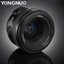 Yongnuo yn35mm lentes f2.0 af/mf foco fixo f1.8 lente para canon nikon d800 d300 d700 d3200 d3300 d5100 d5200 para câmera dlsr