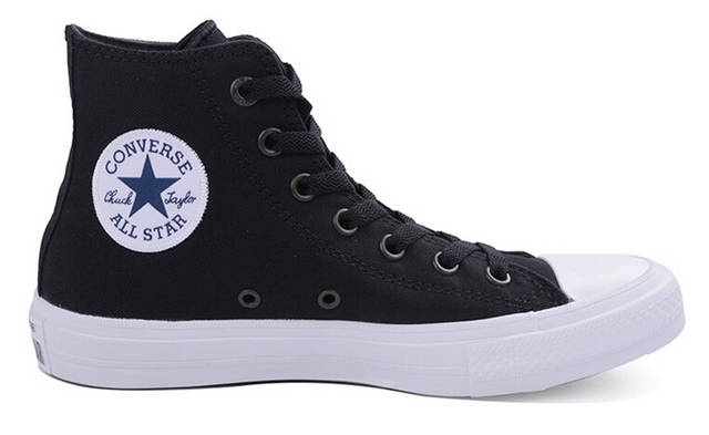 9328f3424658e New Converse Chuck Taylor II All Star shoes unisex high sneakers canvas  blue black color Skateboarding