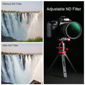 Image 5 - K & F Concept ND8 128 Variabele ND Filter 62mm 67mm 72mm 77mm 82mm GEEN X spot Vervagen Neutrale Densityr Filter Voor Canon Nikon Sony Lens