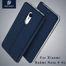 Xiaomi Redmi Note 4 Чехол dux DUCIS Бумажник кожаный чехол Xiaomi Redmi Note 4 X Pro Стенд откидная крышка для xiomi Redmi Note 4 случаях 5.5