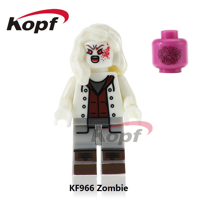 Single Sale The Horror Theme Movie Zombie Heres Jonney Michael Myers Bricks Building Blocks Christmas Toys for children KF966