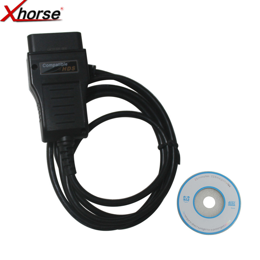 Xhorse HDS Cable OBD2 Diagnostic Cable For H-ONDA V2.018 HDS Cable for Honda HDS Cable