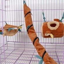 Милые маленькие экзотические Домашние животные сахар планер Ежик хомяк белка шиншиллы хорек Critter мешочки веревка Висячие лист клетка
