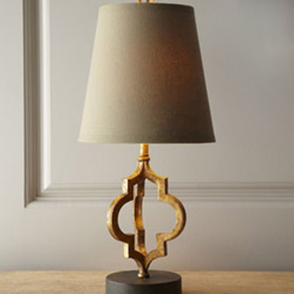 Loft Vintage Modern Lustre Iron Fabric Edison Table Lamps Industrial