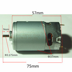 Motor RS-550VC DC10.8V 15000rpm Replacement for BOSCH MAKITA DEWALT HITACHI Milwaukee DEKO Cordless Drill motor DC 10.8V