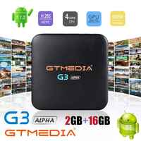 GTMEDIA G3 Android 7.1 Smart Tv Box Media Player Amlogic S905W 2GBRAM +16GBROM Remote Control 4K HD H.265WIFI 2.4G Set Top Boxes