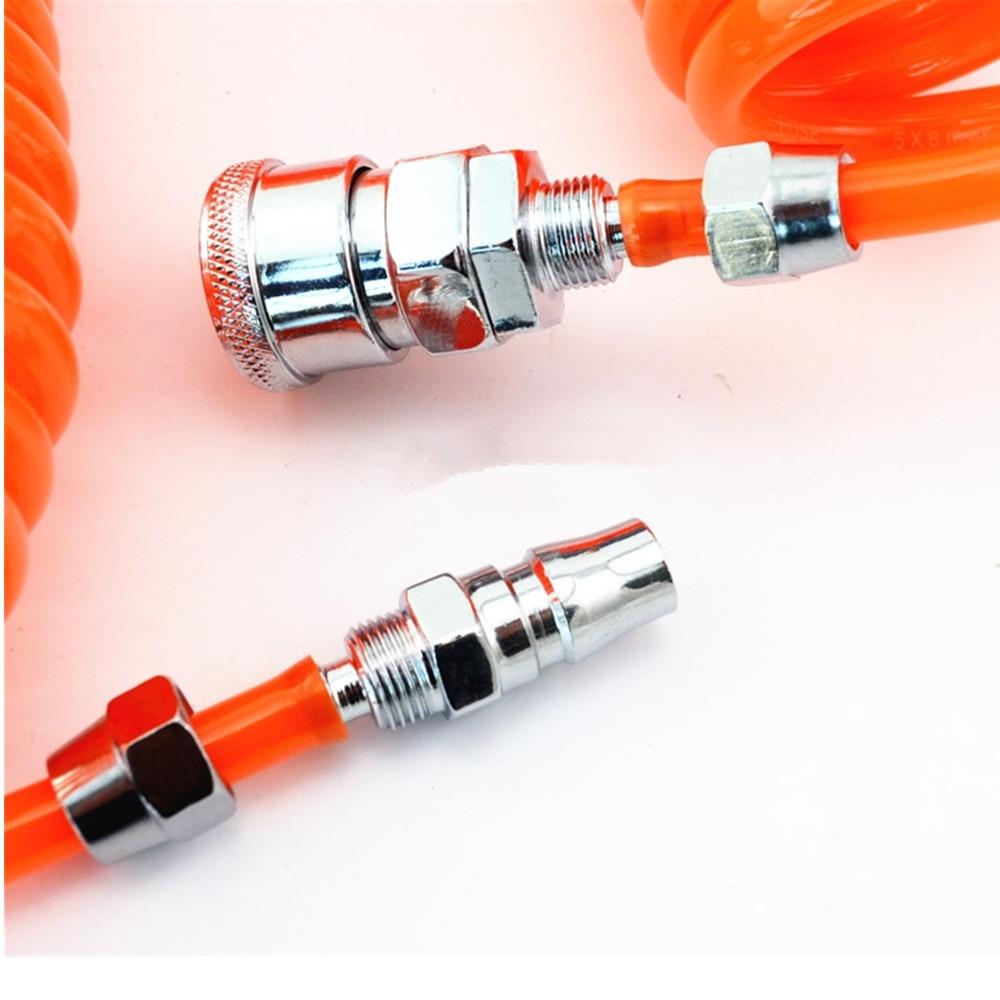 3M 6M 9M 12M 15M 29.5 Ft 8mm x 5mm Flexible PU Recoil Hose Tube for Compressor Air Tool стоимость