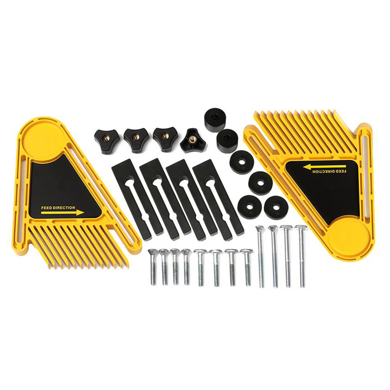 Multi-purpose Tools Set Double Featherboards Table Saws Router Tables Fences Electric Circular Saw Kit DIY For Woodworking Tool newest 1 pair of multi purpose double featherboards feather loc board for table saws router