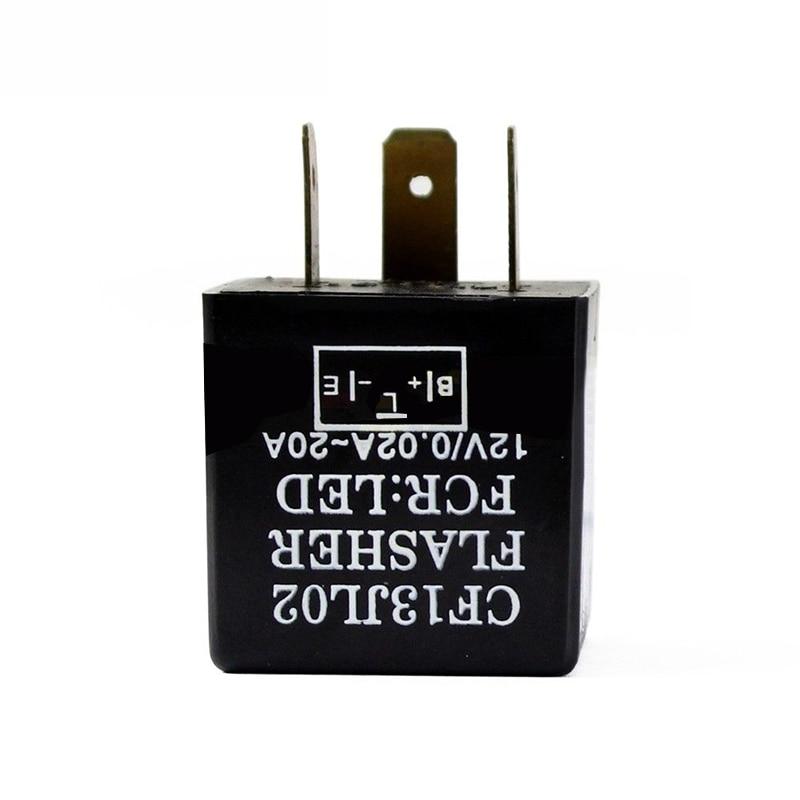 1pc 3 Pin Adjustable LED Flasher Relay Car Turn Signal Indicator Blinker Light high quality