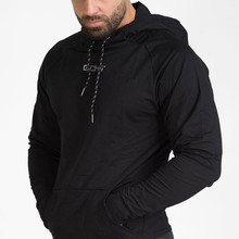 2017  The muscle brothers fall fashion leisure slim cotton Hoodie