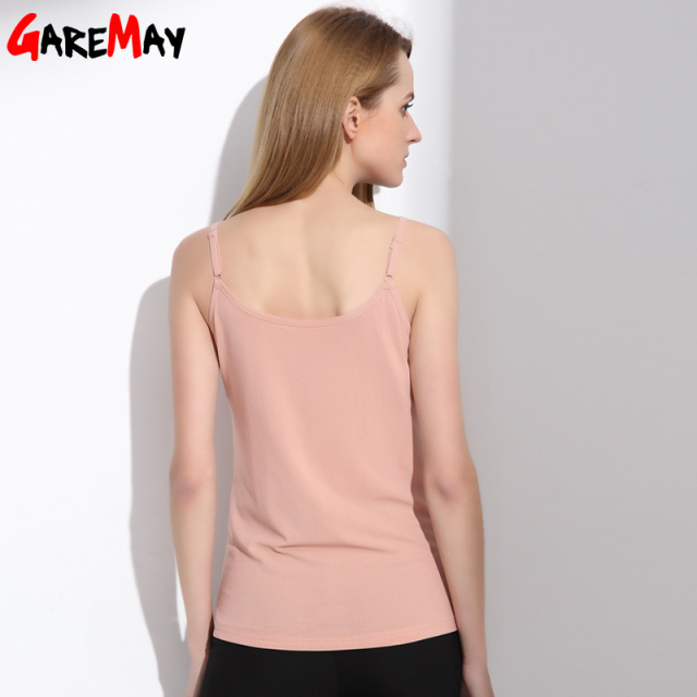 GAREMAY Women Camisole Tank Lace 2018 Halter Top Summer Elegant Strapless Top Black Bottoming Blouse Tank Cami For Women 5056