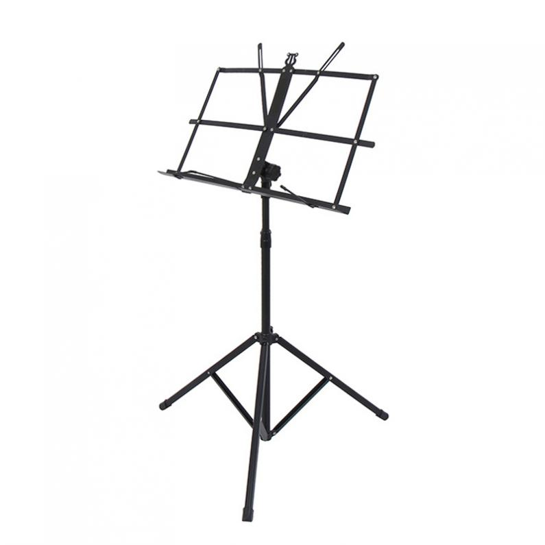 Image 2 - Folding Lightweight Music Stand Aluminum Alloy Tripod Stand Holder Height Adjustable with Carrying Bag-in Guitar Parts & Accessories from Sports & Entertainment