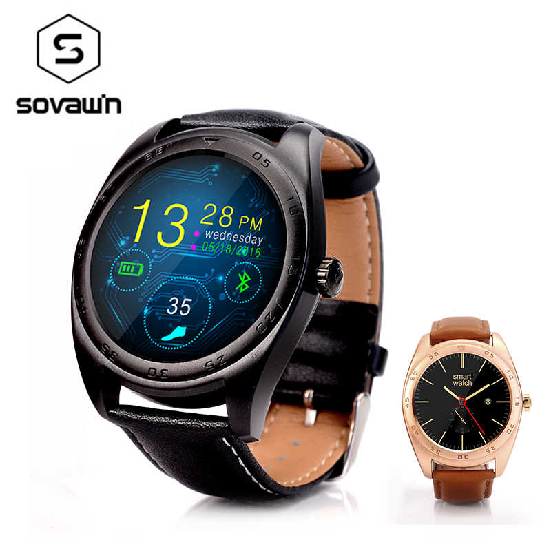 New K89 Smart Watch Men Women Round Screen Smartwatch MTK2502C Heart Rate Monitor for Android IOS Bluetooth Classic Health Watch