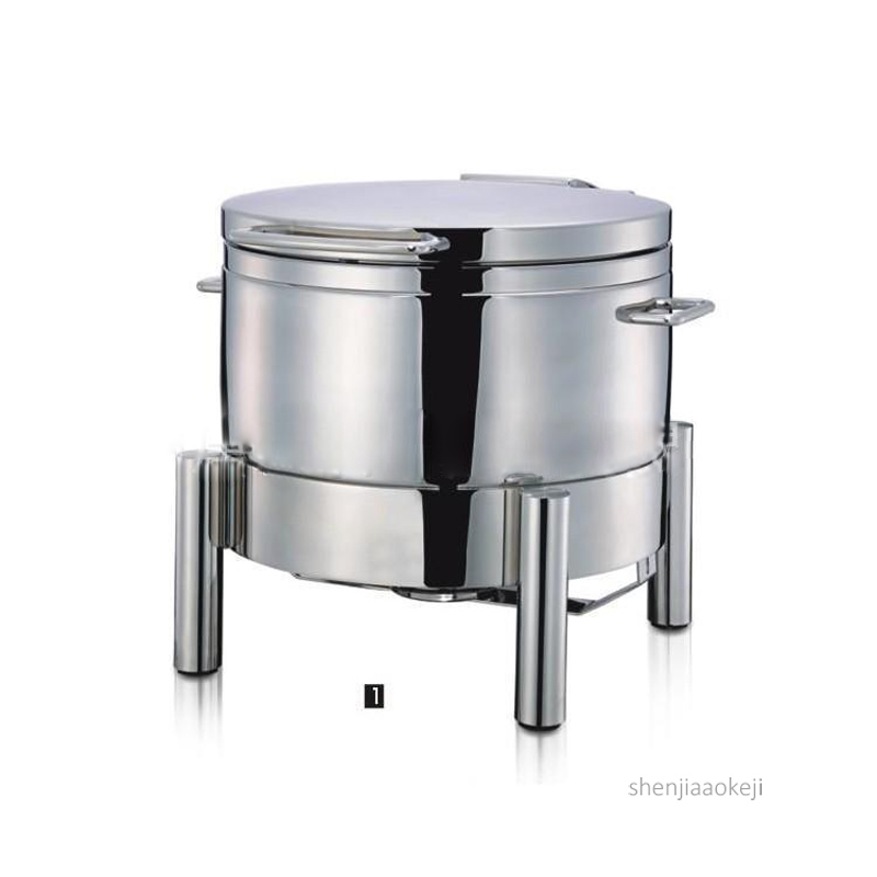 Commercial buffet soup stove hydraulic stainless steel/glass lid holding furnace Food warmer machine Restaurant cooking pot 11LCommercial buffet soup stove hydraulic stainless steel/glass lid holding furnace Food warmer machine Restaurant cooking pot 11L