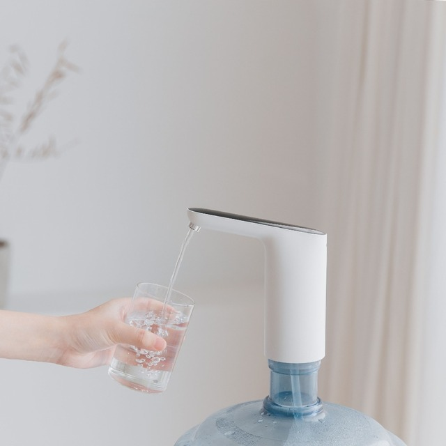 Portable Electric Water Dispenser for Bottle USB Charging Drinking Water Faucet Touch Switch Automatic Water Tap