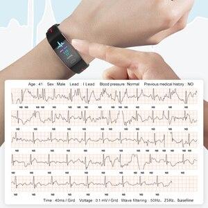 "Image 2 - KAIHAI 2019 פעילות דם לחץ חכם צמיד קצב לב צג PPG אק""ג ספורט להקת שעון Activit גשש כושר צמיד"