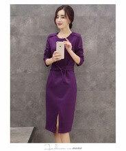 women dress  winter dress  New winter long section Slim thin woolen dress free shipping