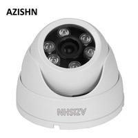 AZISHN Câmera IP H.264 FULL HD 1080 P 2.0 Megapixel onvif P2P HI3518E Metal IP66 Ao Ar Livre Câmera de Segurança DC 12 V/48 V PoE