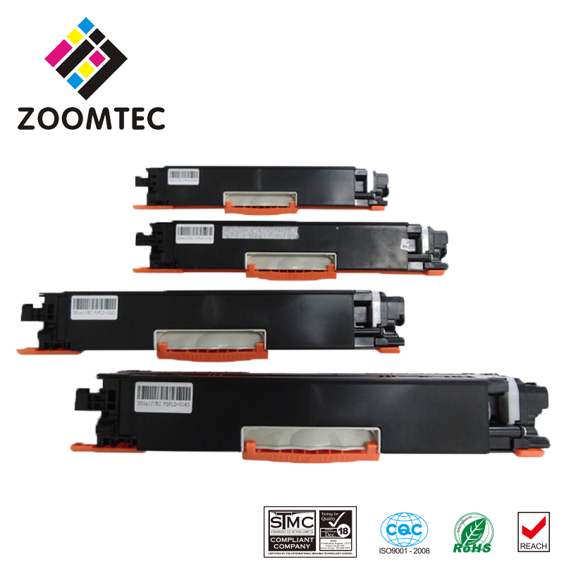 CE310A CE311A CE312A CE313A compatible toner cartridge for HP Color LaserJet CP1025 CP1025NW M275FP free shipping color toner powder ce310a ce311a ce312a ce313a compatible for hp cp1025 m175a m175nw c m y bk 4kg lot