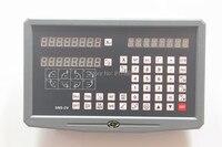 밀링 선반 기계 용 2 축 디지털 판독 디스플레이 DRO 선형 저울 인코더 5 마이크론