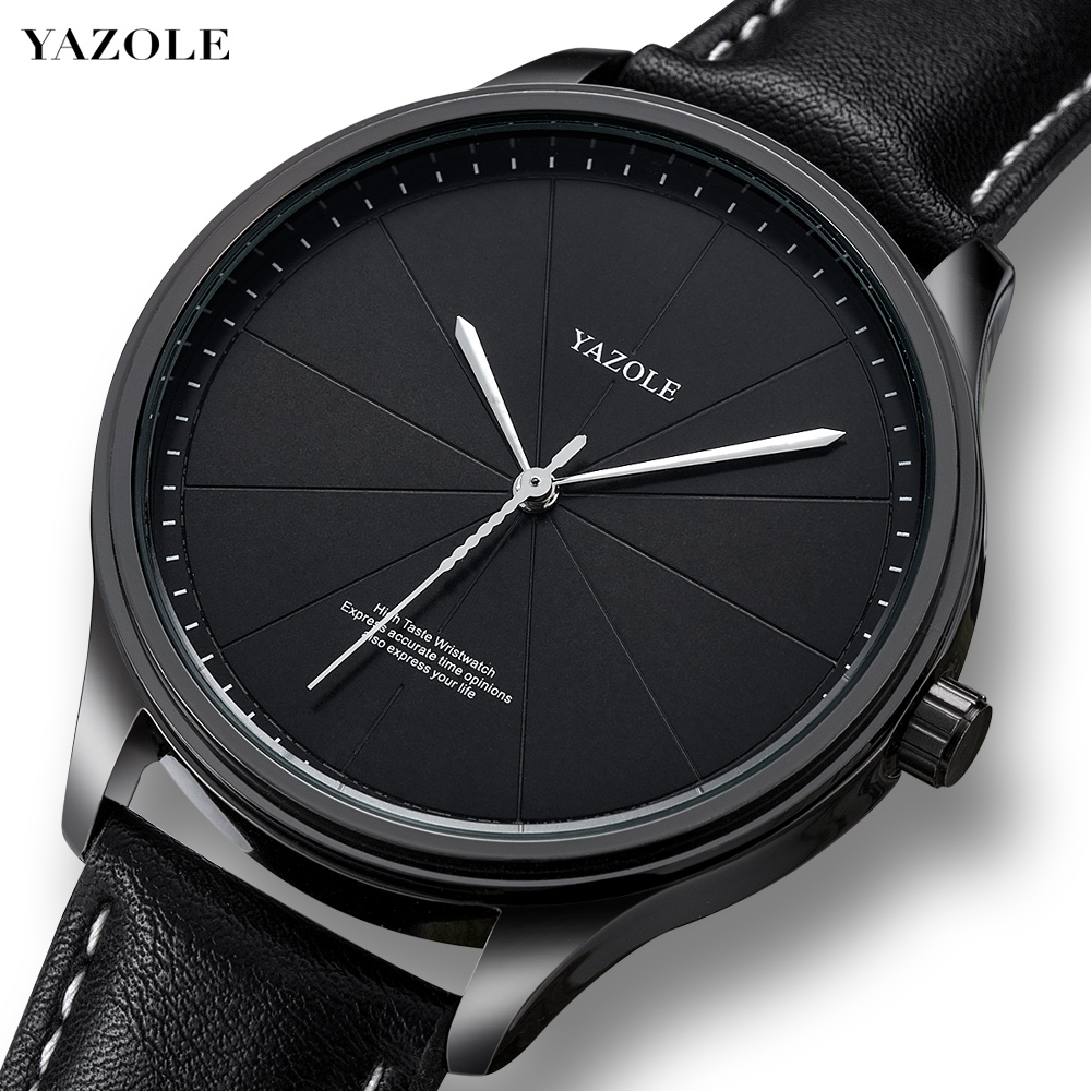 Relogio Masculino 2019 Watches Men Fashion No Number Minimalist Style Leather Band Watch Quartz Business Wristwatch Reloj Hombre