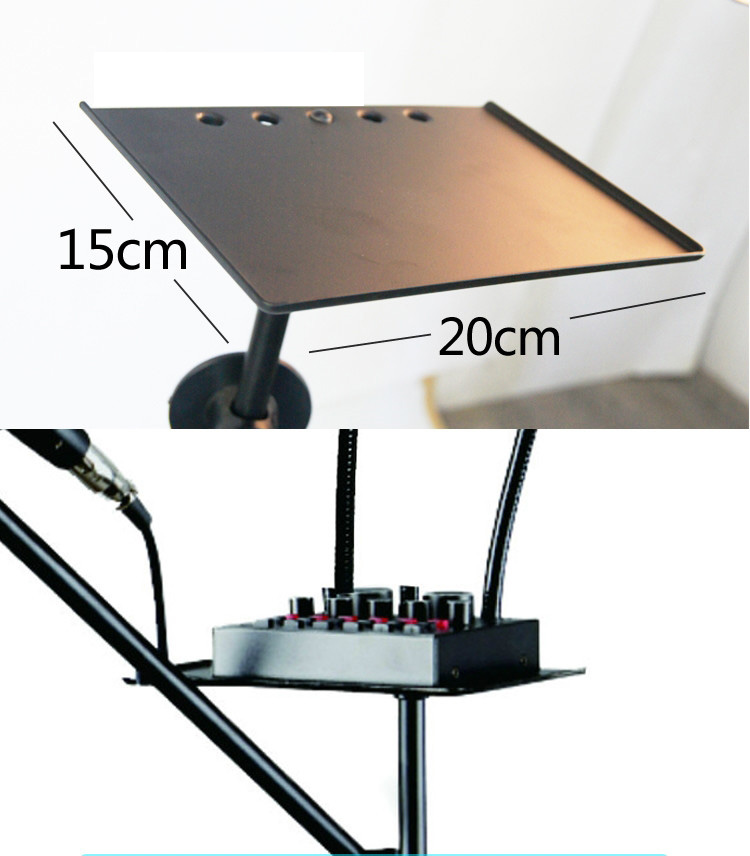 Ring Light and Floor Stand Mic Holder 5