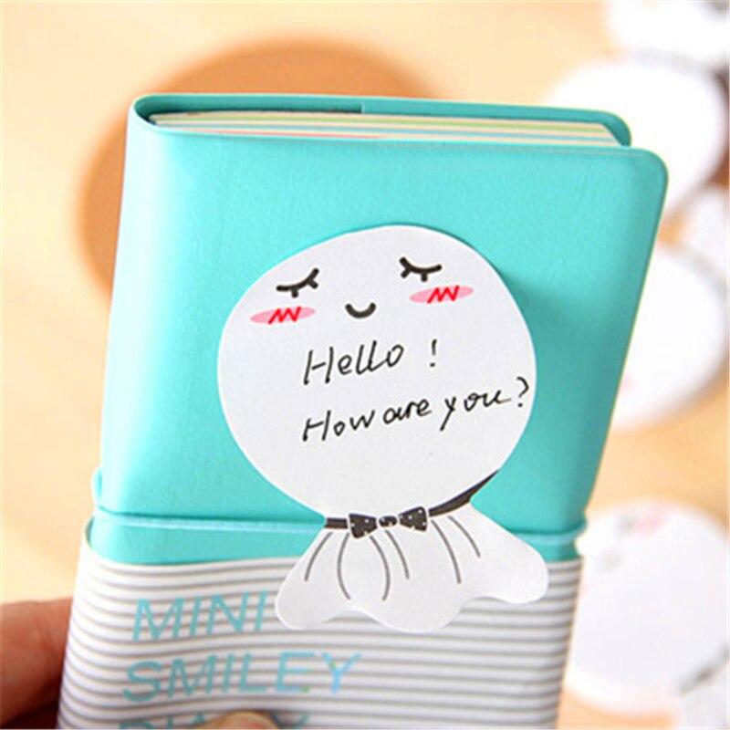 diy Sunny Doll zâmbet memo pad Sticky etichetă scoică notă - Blocnotesuri și registre - Fotografie 2