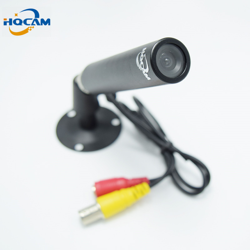 HQCAM 420TVL Mini Bullet Camera 1/3 Sony CCD 420TVL Outdoor Waterproof Security CCTV mini waterproof Camera 3.6mm board lens