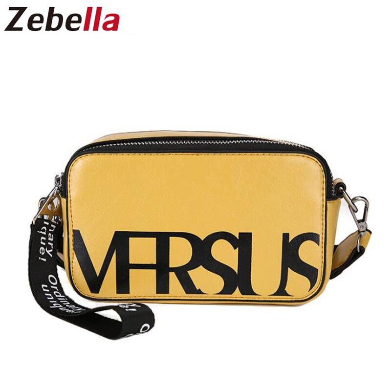 Cossbody Bag For Women 5 Colors 2019 Leather Bag New Shoulder Fashion Small Crossbody Bags For Women Travel Handbag Women's Bag