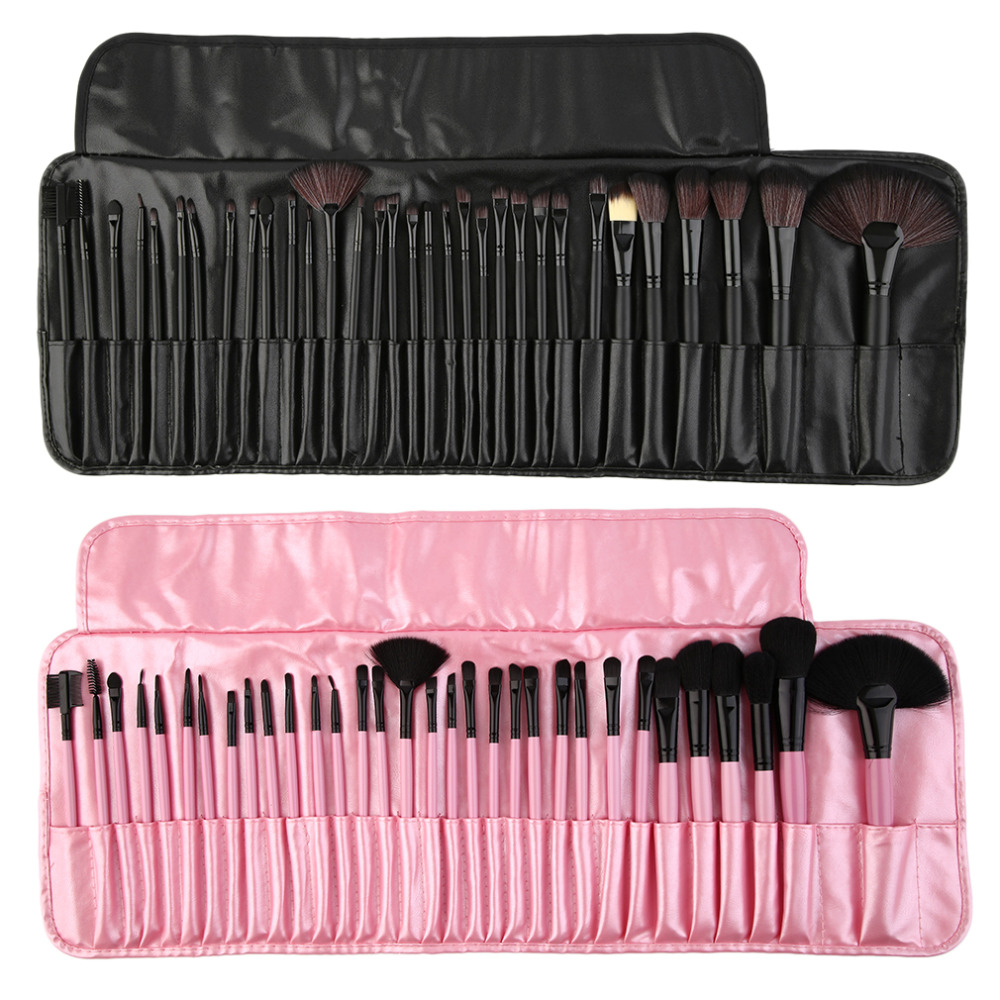 32 pieces brushes pack complete make-up brushes with case long lasting professional use & casual personal use soft to skin top global elementary coursebook with eworkbook pack