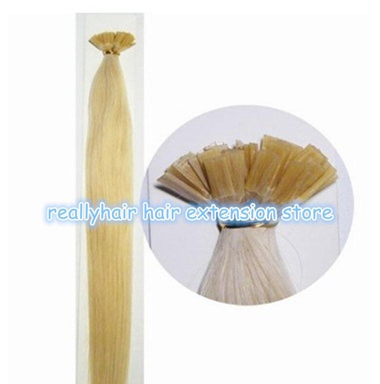 500 шт. Плоский наконечник кератин клей/Итальянский Кератин для предварительного связанных волос ремонт