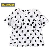b40817221 Balabala 2018 de las muchachas de la ropa de los niños del verano camisa  tops de los niños niño lindo niño ropa de moda camisas .