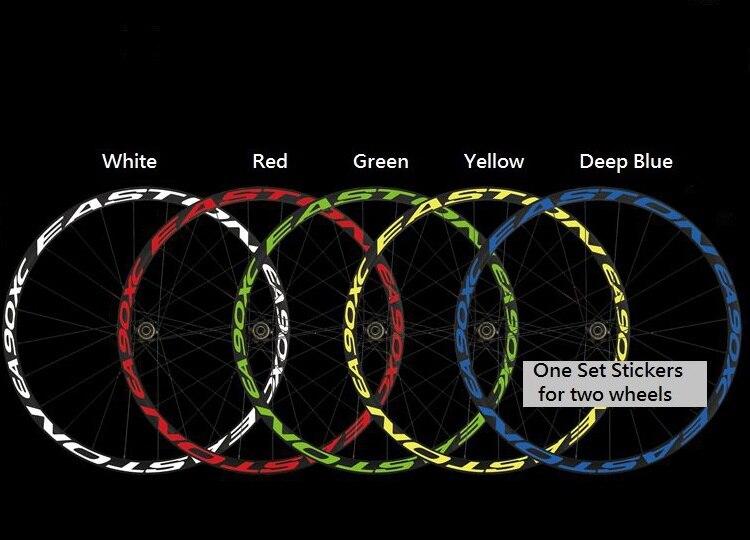 Wheel Stickers Set for EASTON EA70 XCT Mountain Bike EA 70 MTB Bicycle Decals